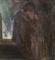 Edvard Munch The Kiss