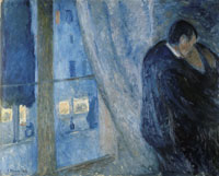 Edvard Munch Kiss by the Window