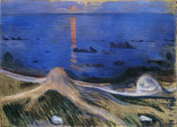 Edvard Munch Mystery on the Shore