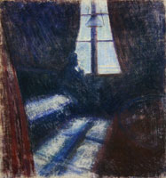 Edvard Munch Night in Saint-Cloud