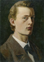 Edvard Munch Self-Portrait