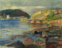 Edvard Munch The Tønsberg Fjord