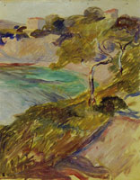 Edvard Munch Trees by the Mediterranean