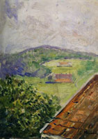 Edvard Munch View from Hauketo