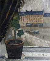 Edvard Munch View Across Olaf Rye's Square