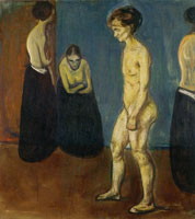 Edvard Munch Women in Hospital