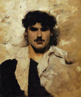 John Singer Sargent Head of a Male Model