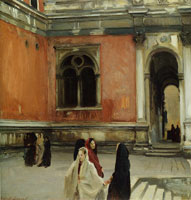 John Singer Sargent Campo behind the Scuola di San Rocco