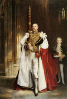 John Singer Sargent Charles Stewart, Sixth Marquess of Londonderry Carrying the Great Sword of State