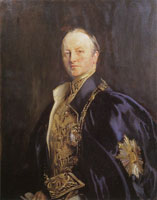John Singer Sargent The Right Honourable Earl Curzon of Kedleston
