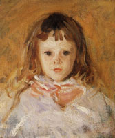 John Singer Sargent Head of a Child