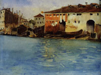 John Singer Sargent The Marinarezza, Venice
