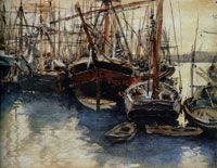 John Singer Sargent Ships and Boats