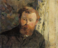 Paul Gauguin Portrait of Achille Granchi-Taylor