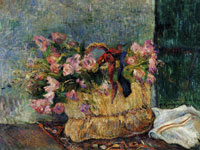 Paul Gauguin Basket of Flowers