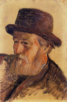 Paul Gauguin Portrait of Isidore Gauguin