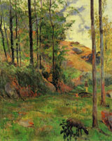 Paul Gauguin Path down to the Aven