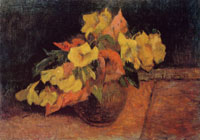 Paul Gauguin Evening Primroses in a Vase