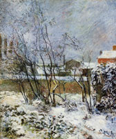 Paul Gauguin Snow, Rue Carcel I