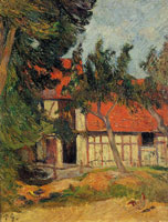 Paul Gauguin Stable near Dieppe I