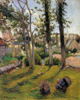 Paul Gauguin Turkeys, Pont-Aven