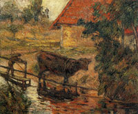 Paul Gauguin Watering Place II