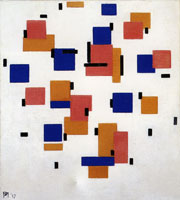 Piet Mondrian Composition in Color B
