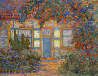 Piet Mondriaan Little House in Sunlight