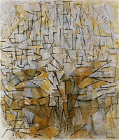 Piet Mondrian - Tableau No. 4 / Composition No. VIII