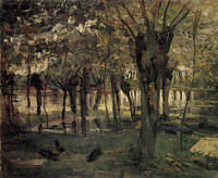 Piet Mondriaan Willow Grove near the Water, Prominent Tree at Right