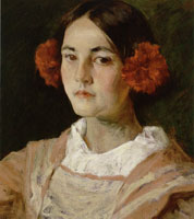 William Merritt Chase Portrait of the Artist's Daughter, Alice