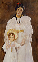 William Merritt Chase Double Portrait: A Sketch