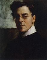 William Merritt Chase Portrait of Louis Betts