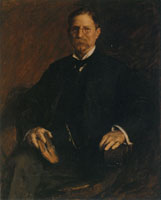 William Merritt Chase Portrait of Professor T.U. Taylor