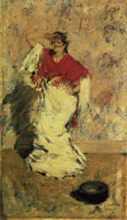 William Merritt Chase Street Dancer, Italy