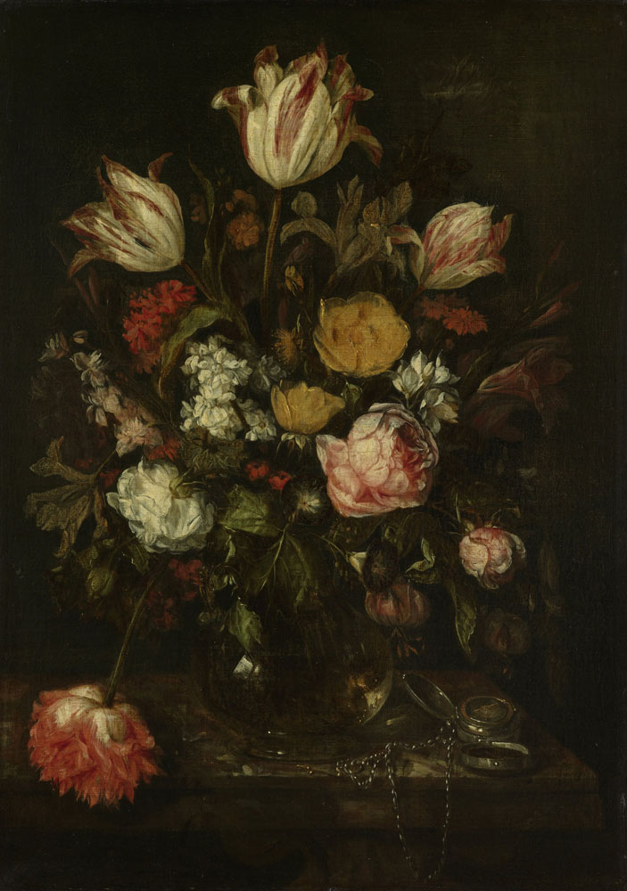 Abraham van Beijeren - Still Life with Flowers