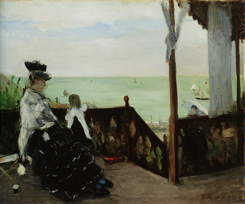 Berthe Morisot - In a Villa at the Seaside