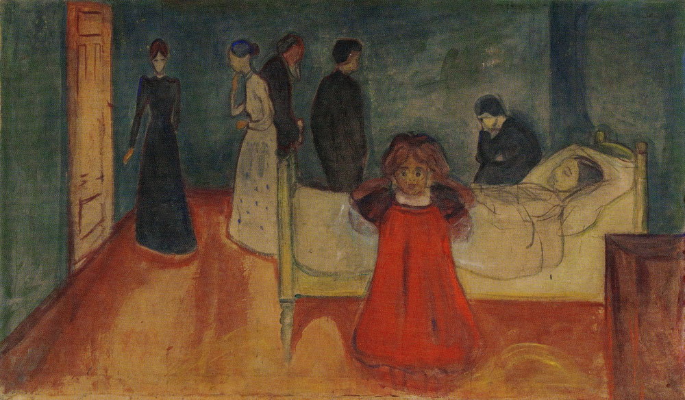Edvard Munch - Death and the Child