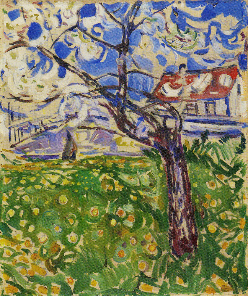 Edvard Munch - Fruit Trees in Blossom