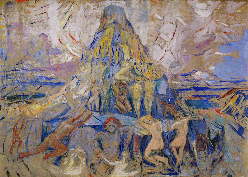 Edvard Munch - The Human Mountain. Towards the Light