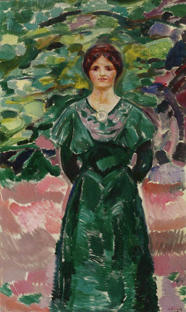 Edvard Munch - Ingeborg in Green