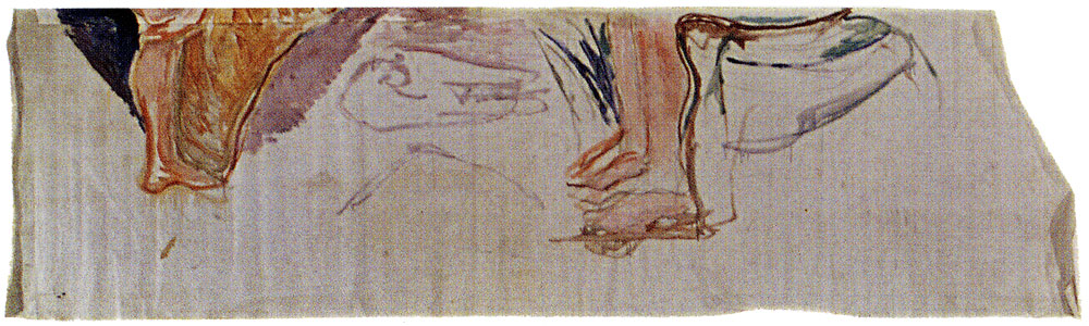 Edvard Munch - The Researchers: Children's Feet