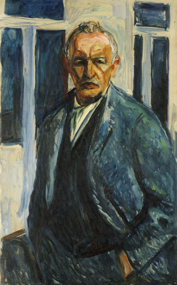 Edvard Munch - Self-Portrait with Hands in Pockets