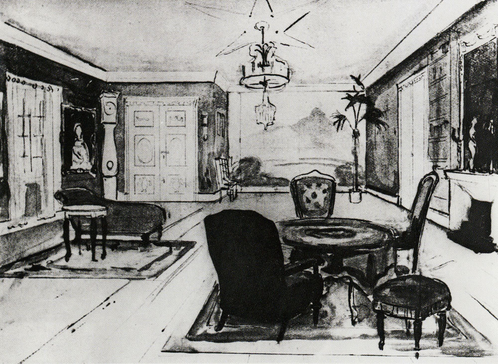 Edvard Munch - Set Design for Henrik Ibsen's Ghosts