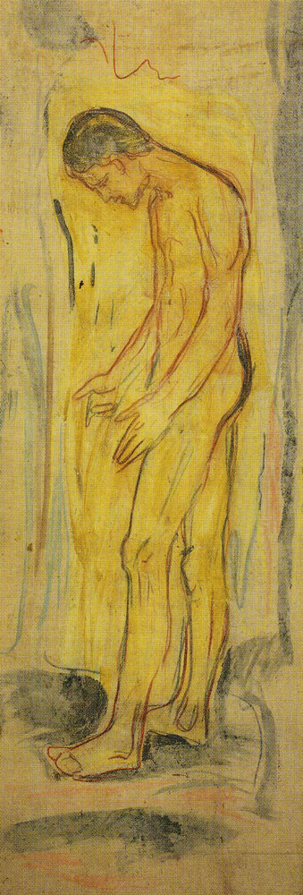 Edvard Munch - Standing Naked Man. The Source