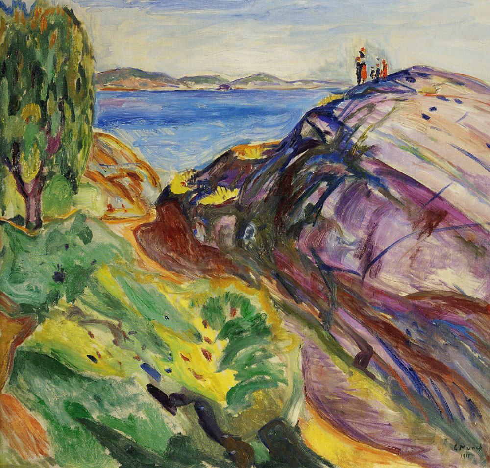 Edvard Munch - Summer in Kragerø