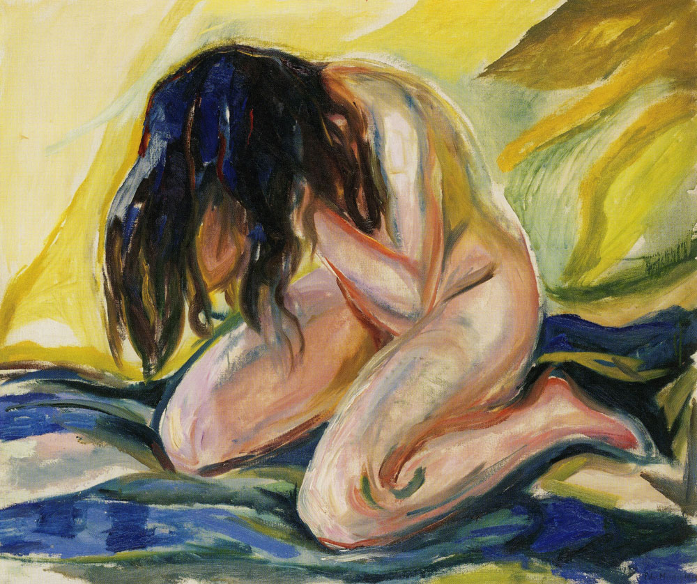 Edvard Munch - Weeping Nude