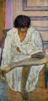 Pierre Bonnard Woman at Her Toilette