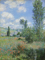 Claude Monet View of Vétheuil