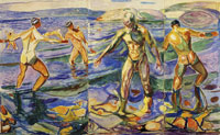 Edvard Munch - Bathing Men